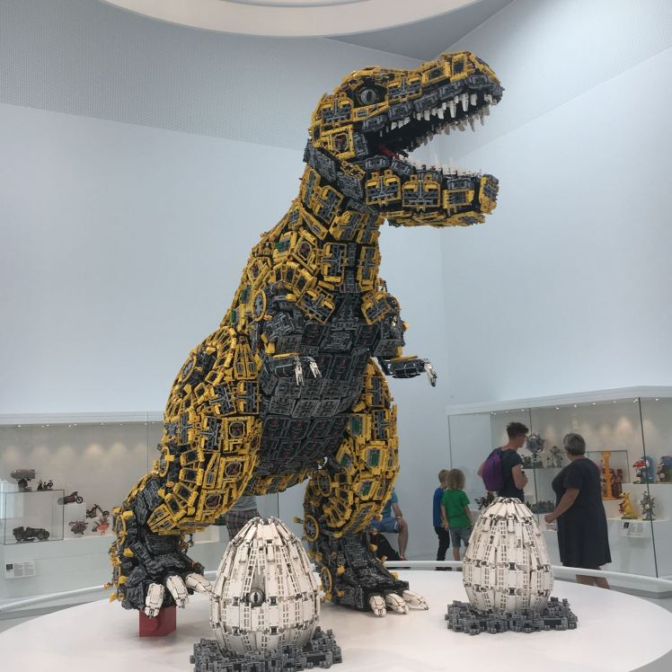 LEGO House dinosauri