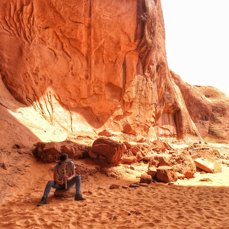 Navajo flutes Monument